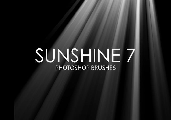 Gratis Sunshine Photoshop-borstels 7