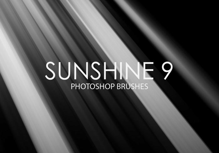 Free Sunshine Photoshop Brushes 9