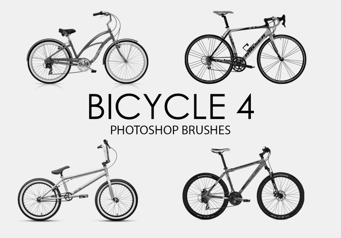 Gratis fiets Photoshop-borstels 4