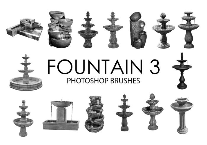 Fontaine Photoshop Brushes 3