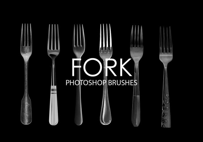 Fork Photoshop Brushes
