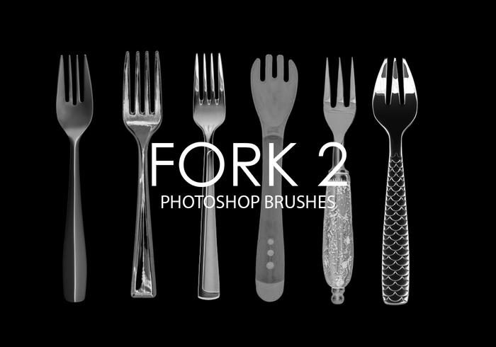Fork Photoshop Brushes 2