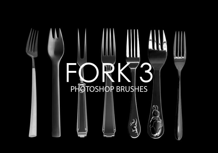 Fourche Photoshop Brushes 3