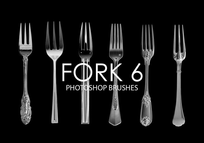 Fork Photoshop Brushes 6