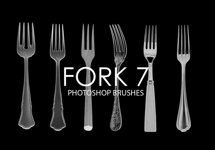 Fork Photoshop Brushes 7