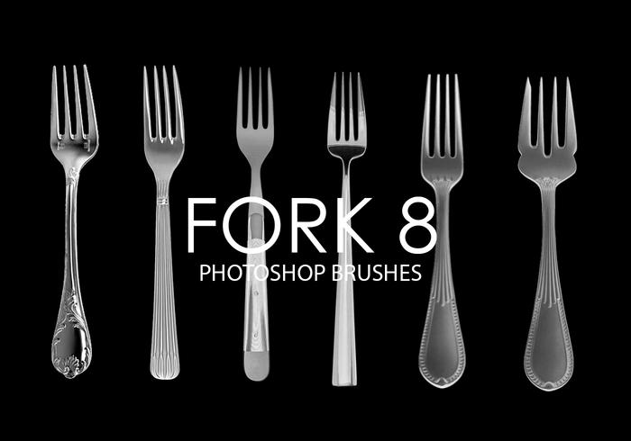 Fork Photoshop Brushes 8
