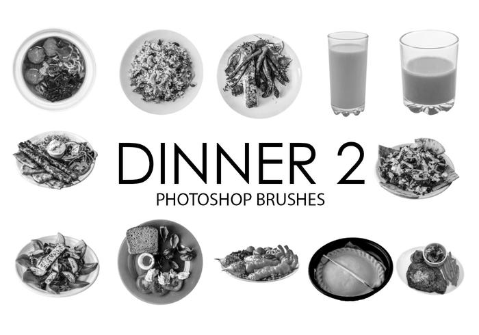 Dinner Photoshop Brushes 2