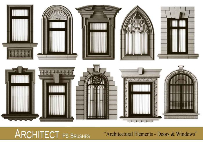 20 architect ps brushes.abr vol.9