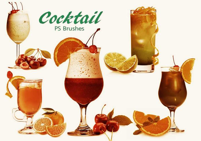 20 Cocktail PS Brushes.abr vol.13