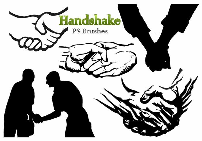 20 Handshake PS-borstels abr. Vol.6