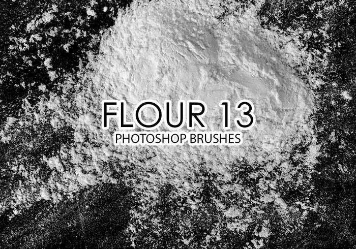 Flour Photoshop Brushes 13