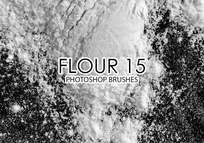 Flour Photoshop Brushes 15