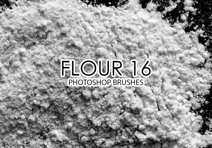 Flour Photoshop Brushes 16