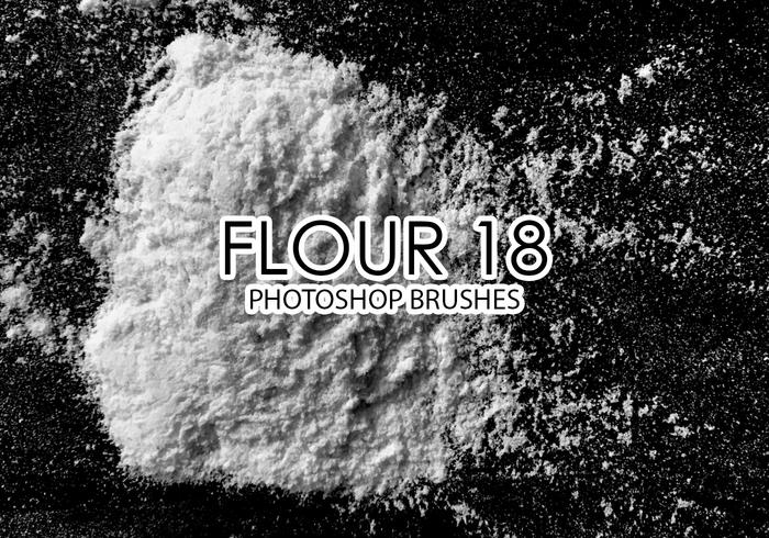 Flour Photoshop Brushes 18