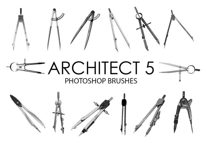 Architecte Photoshop Pinceaux 5