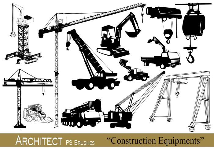 20 Architecte - Equipements de Construction - PS Brushes.abr vol.10