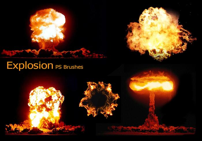 20 Explosion PS Brushes.abr Bd. 7