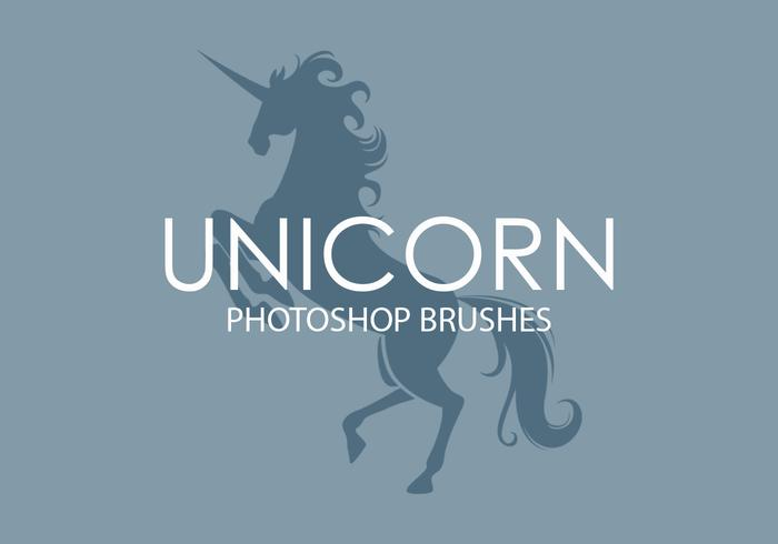 Unicorn Photoshop Pinceaux