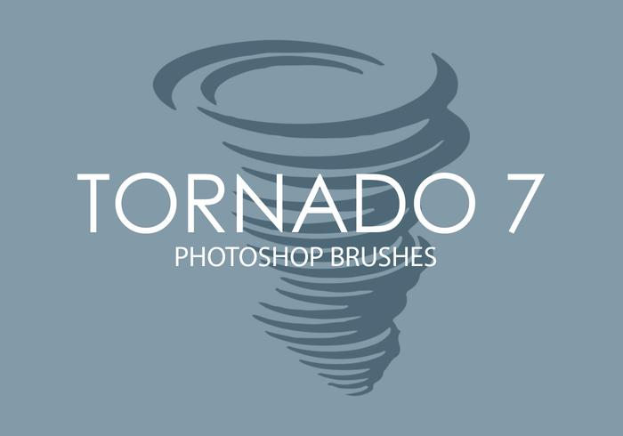 pincéis do photoshop do tornado 7