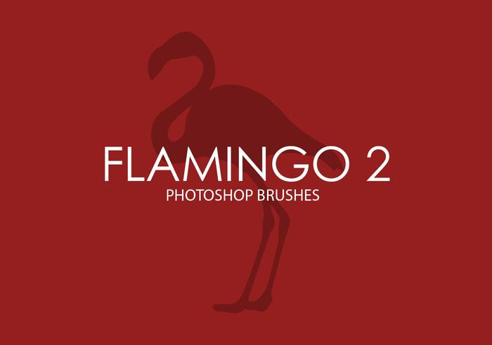 Flamingo Photoshop Pinceaux 2
