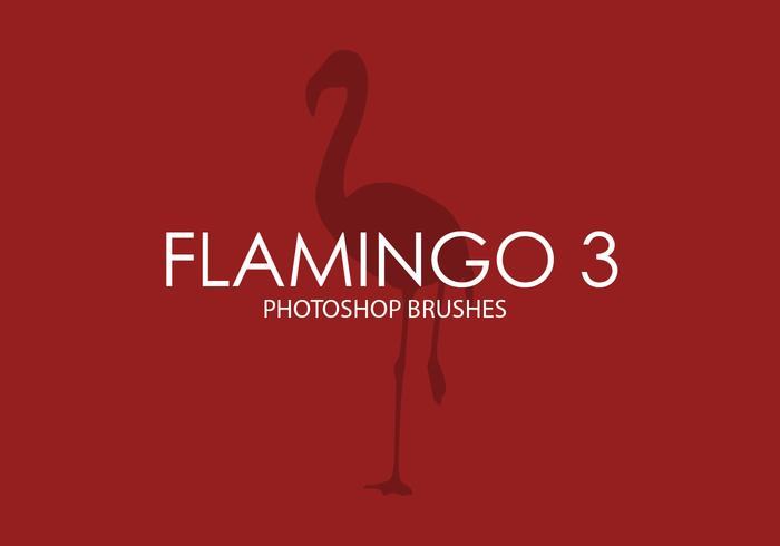 Flamingo Photoshop Brushes 3