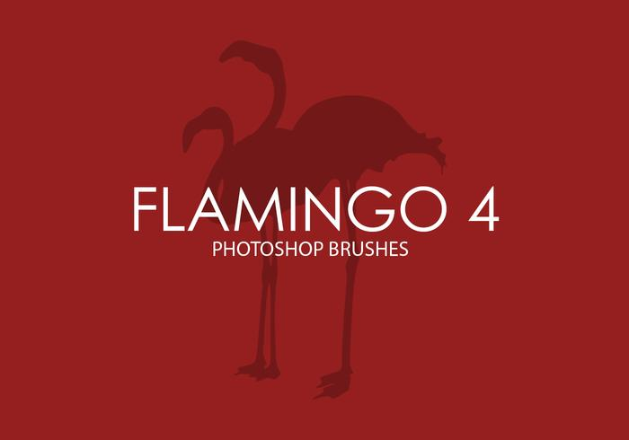 Flamingo Photoshop Pinceaux 4