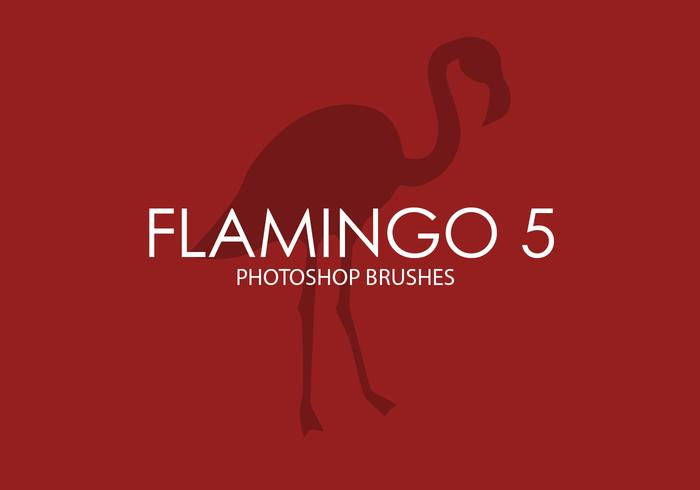 Flamingo Photoshop Brushes 5