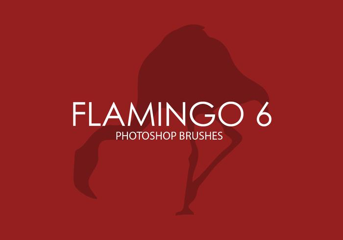 Flamingo Photoshop Brushes 6