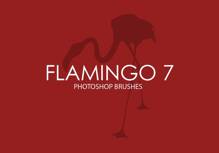 pinceaux flamingo photoshop 7