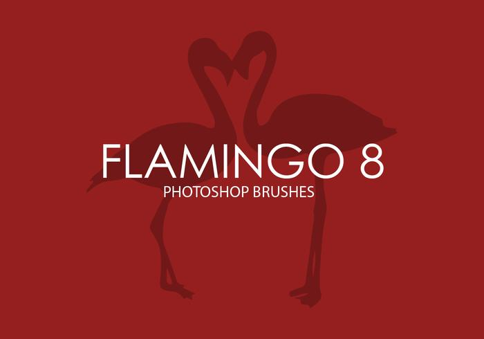 Flamingo Photoshop Pinceaux 8