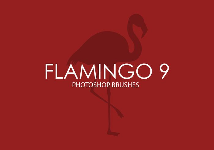 Flamingo Photoshop Brushes 9