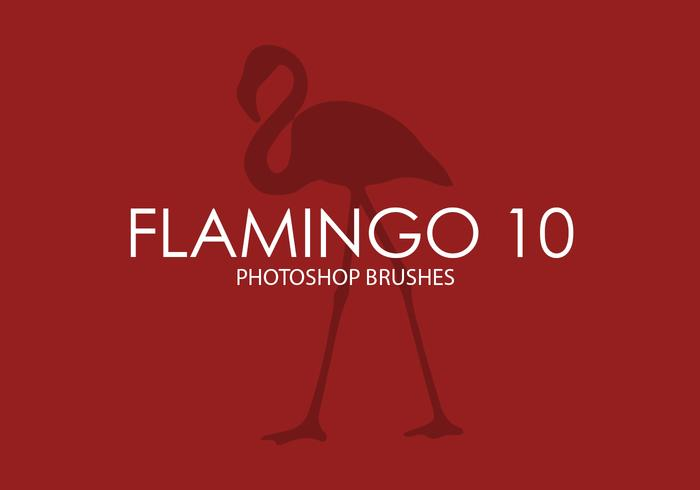 Flamingo Photoshop Brushes 10