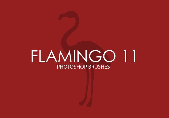 Flamingo Photoshop-penselen 11