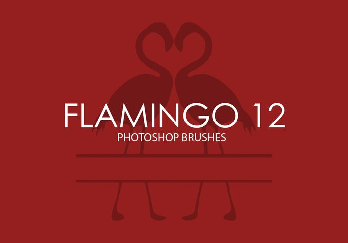 Flamingo Photoshop Pinceaux 12