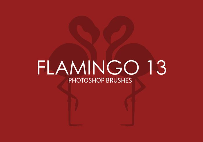 Flamingo Photoshop Brushes 13