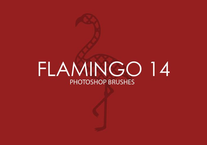 Flamingo Photoshop-penselen 14