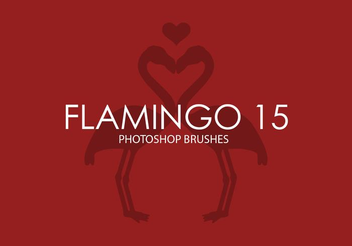Flamingo Photoshop Pinsel 15