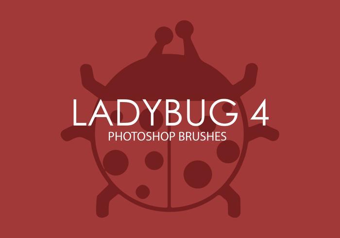 Brochas para Photoshop Ladybug 4