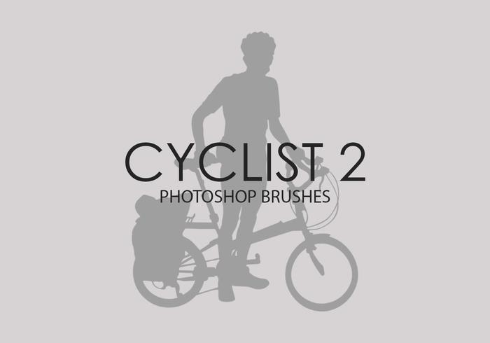 Cyclist Photoshop Brushes 2