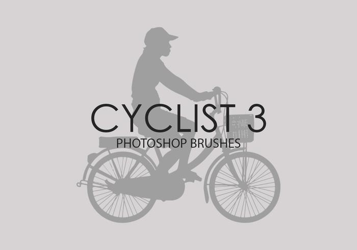 Cycliste Photoshop Brushes 3