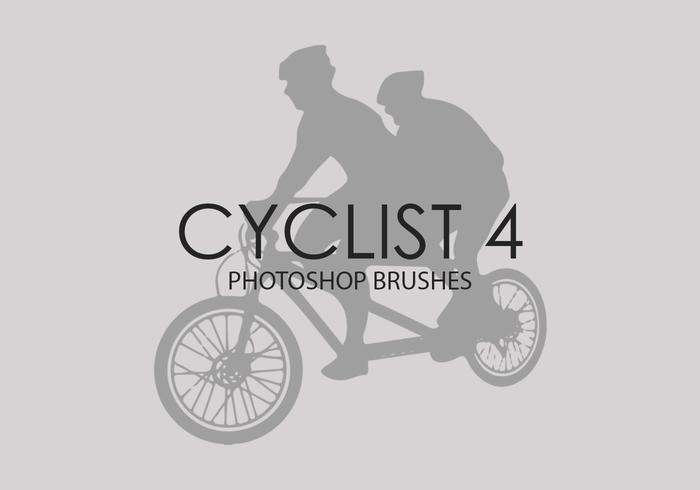 Cycliste Photoshop Brushes 4