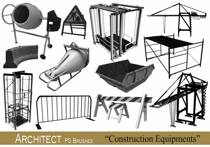20 Architecte - Équipements de construction - PS Brushes.abr vol.14