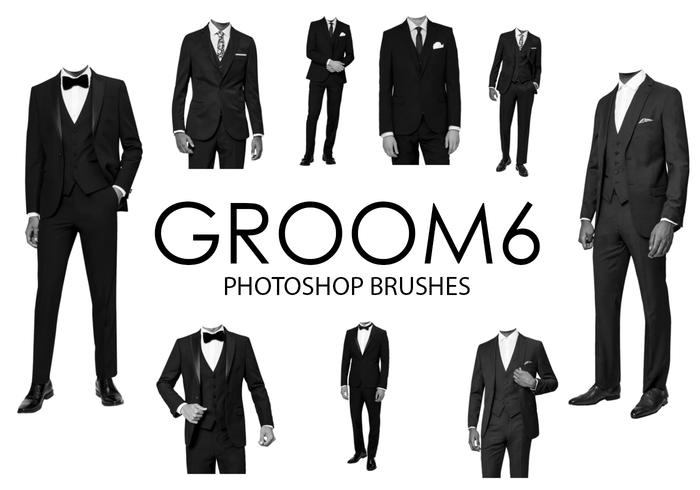 Escovas do Groom Photoshop 6
