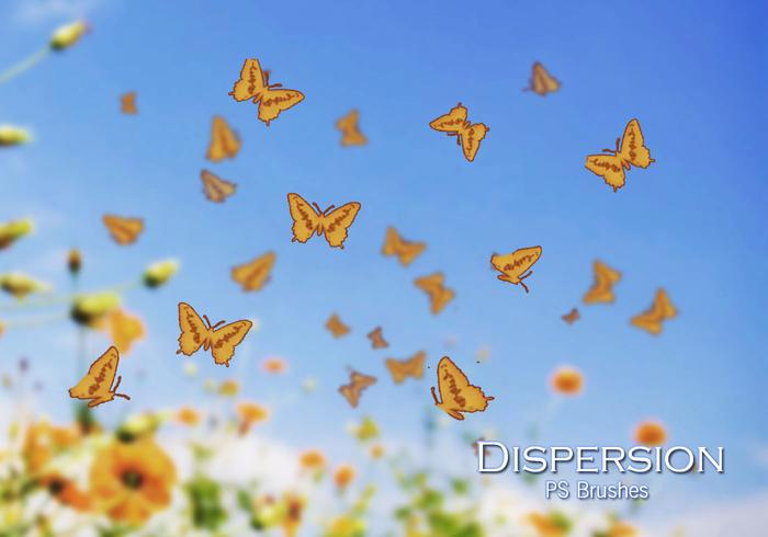 20 Dispersion Butterfly PS Bürsten abr. Vol.14