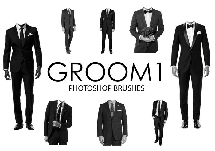 Groom Photoshop Borstar 1