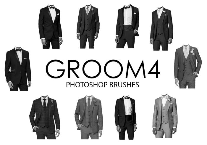 Groom Photoshop Brushes 4