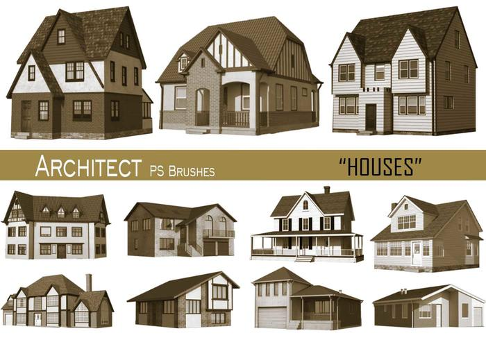 20 Architectenhuizen PS Brushes.abr vol.15