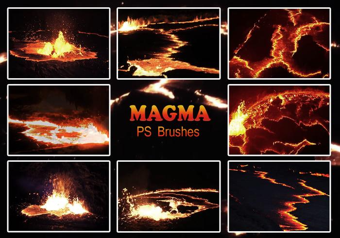 20 Magma Texture PS Brushes.abr vol.7