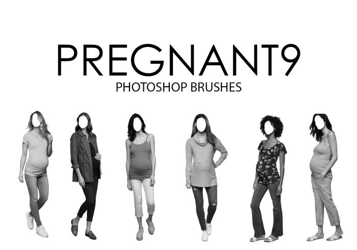 Pregnant Photoshop Brushes 9