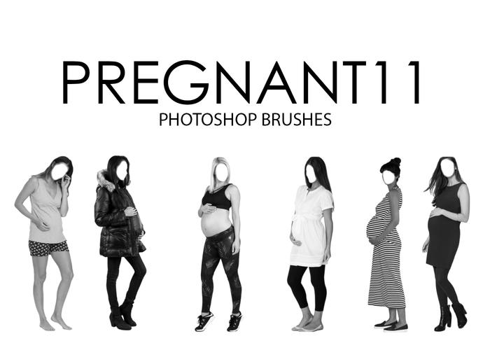 Pregnant Photoshop Brushes 11
